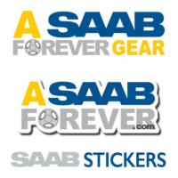 SAAB Stickers