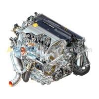 SAAB 9-4x Engine