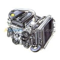 SAAB 9-7x (05-09) Engine